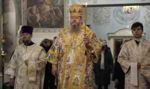 Митрополит Корнилий совершил всенощное бдение в Ильинском соборе