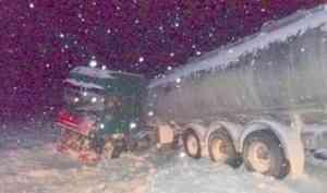 Виновник ДТП с участием грузового автомобиля и микроавтобуса в Поморье был пьян