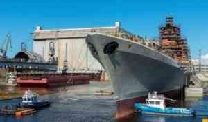 Задача Севмаша 2021 года – подготовить крейсер «Адмирал Нахимов» к испытаниям