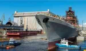 За 2021 год «Севмаш» должен подготовить крейсер «Адмирал Нахимов» к испытаниям