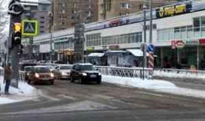 После смертельного ДТП на архангельском перекрестке ввели пешеходную фазу