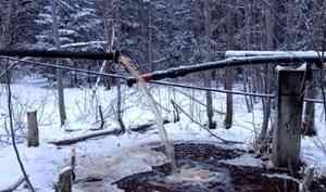 В дома жителей деревни Рембуево сегодня стала поступать вода