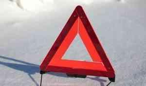 На трассе Архангельск-Северодвинск произошло ДТП с участием трёх машин