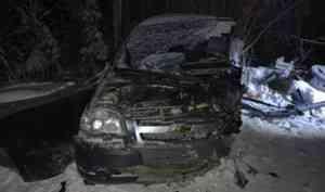 В Няндомском районе в ДТП пострадала женщина-водитель