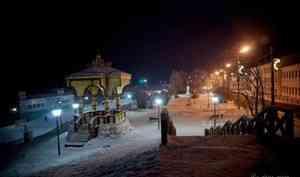 В Архангельск вновь приходят сильные морозы