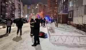 В квартире архангельской многоэтажки произошел хлопок газа