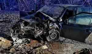На трассе «Котлас-Коряжма» в ДТП погибла женщина