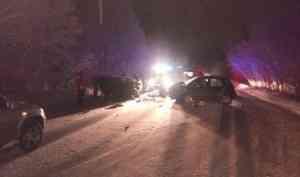 В Котласском районе неумелый водитель угробил женщину