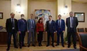 """В гости к САФУ приехали представители """"казачьего"""" университета"""