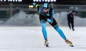 В Архангельске определены лучшие конькобежцы Поморья
