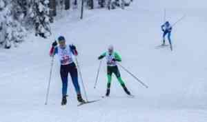 Лыжники Устьянского района и Северодвинска - в лидерах областных соревнований