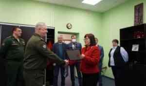 Елена Кудряшова поздравила сотрудников Военного учебного центра с Днём инженерных войск