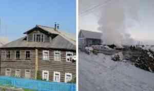 В селе Долгощелье Мезенского района в пожаре погибла учительница