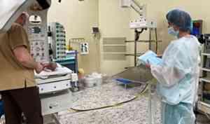 В Архангельске врачи спасли жизнь новорожденному с тяжелым пороком развития пищевода