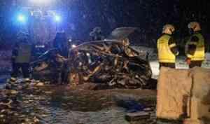 Водитель и три пассажира «девятки» погибли в аварии на северодвинской трассе