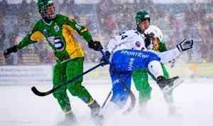 При участии сотрудников архангельского ОМОН Росгвардии обеспечена безопасность матча по хоккею с мячом