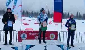 Лыжники Архангельской области взяли две медали на первенстве Северо-Запада России