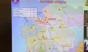 Спасатели призывают жителей региона ответственно относиться к соблюдению правил пожарной безопасности