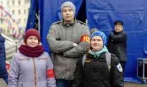 Народные дружины САФУ продолжают охранять общественный порядок