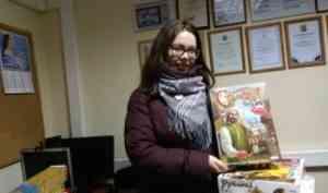Волонтеры САФУ продолжают проект «Выездная игротека»