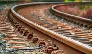 В Архангельской области с перегона жд-станции похитили более 8 тонн рельс