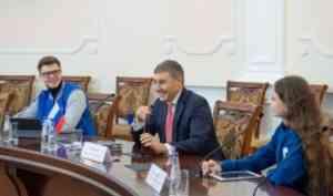 Валерий Фальков ответил на вопросы представителей студенческих СМИ