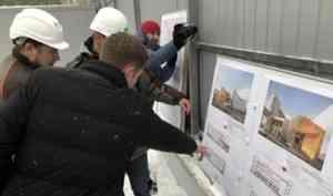 В Архангельске началось возведение нового корпуса областной детской больницы