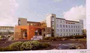 Натерритории областной детской клинической больницы стартовало возведение нового лечебно-диагностического корпуса