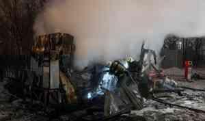 Из-за взрыва на газозаправочной станции в Архангельске пострадала женщина
