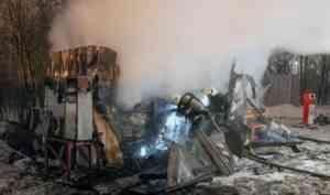 Оператор газовой заправки в Архангельске пострадала в результате пожара