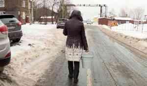 ВАрхангельске жители дома наулице Чкалова живут спостоянными перебоями воды