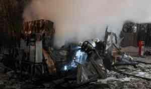 Архангелогородка пострадала в пожаре на газозаправочной станции