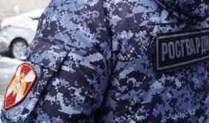 В Архангельской области сотрудники Росгвардии задержали мужчину, управлявшего автомобилем в нетрезвом состоянии