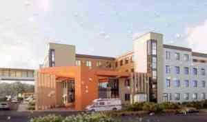 Архангелогородцам показали эскиз будущего корпуса детской областной больницы