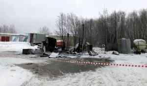 По факту пожара на газовой заправке в Архангельске возбуждено уголовное дело
