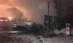 Собственник горевшей в Архангельске заправки игнорировал требования госпожнадзора