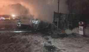 Собственник газозаправочной станции, накоторой произошёл пожар вАрхангельске, полгода игнорировал требования пожнадзора устранить нарушения