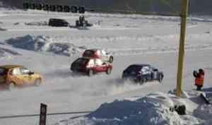 В Вельском районе определили победителей Кубка Поморья по ледовым гонкам