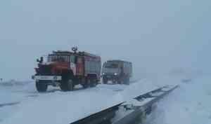 Спасатели оказали помощь более тысячи человек, застрявшим в метель на трассах в Челябинской области