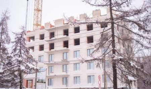 ЖК «Искра Парк»: Стены 7-го этажа сделаны более чем на 50%