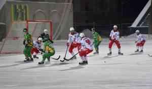 «Водник» в упорном матче переиграл красноярский «Енисей» в Архангельске