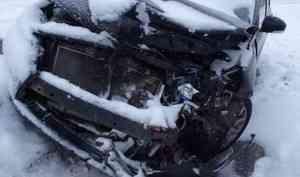 В Северодвинске пьяный водитель устроил ДТП
