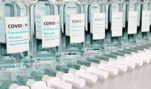 Более 21,5 тысяч жителей Архангельской области прошли вакцинацию от COVID-19
