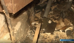 Отсутствие воды ифекальные стоки постенам: Исакогорка страдает откоммунальных проблем