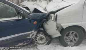 В Холмогорском районе в ДТП пострадал пассажир