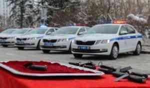 Автопарк ГИБДД Архангельской области пополнился новыми автомобилями