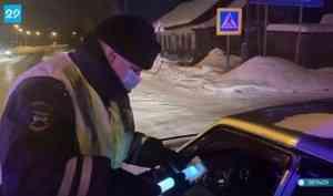 ВВельском районе напраздничных выходных запьяное вождение задержали семь человек