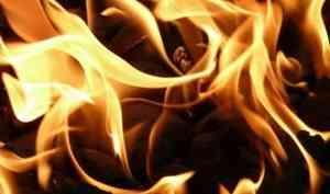 ВНяндоме произошёл крупный пожар, окотором никто незаявил. Внём серьёзно пострадал человек