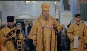 Митрополит Корнилий совершил всенощное бдение в канун недели о блудном сыне