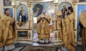 Митрополит Корнилий совершил Литургию в неделю о блудном сыне